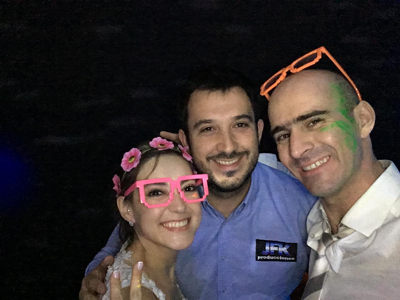 Macarena Rivas y Alejandro Signorio